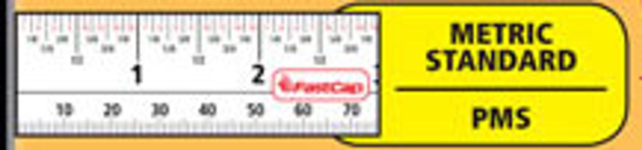 Flatback Standard & Metric Measuring Tape 16 FT blade image