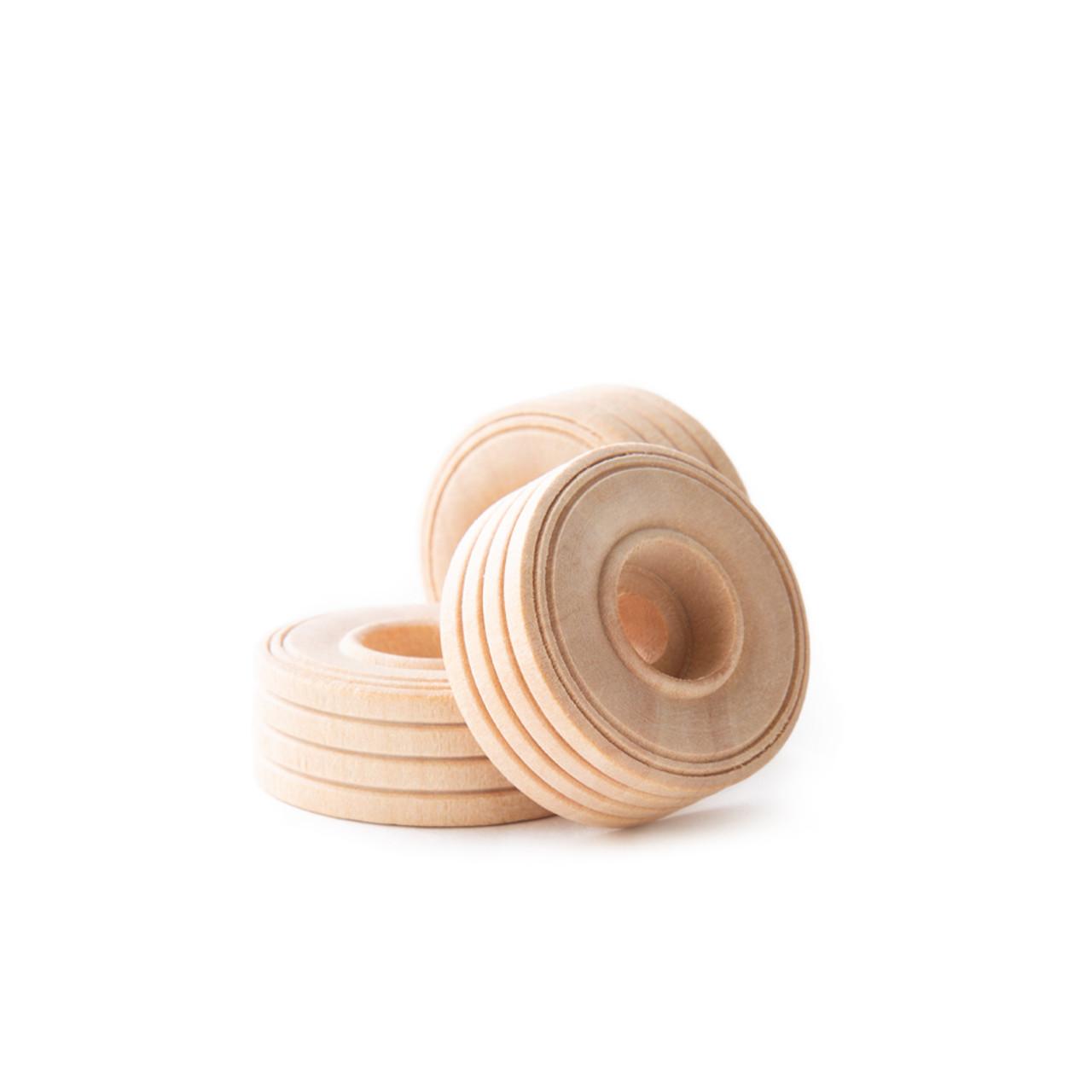 1-1/4 Inch Treaded Toy Wheels