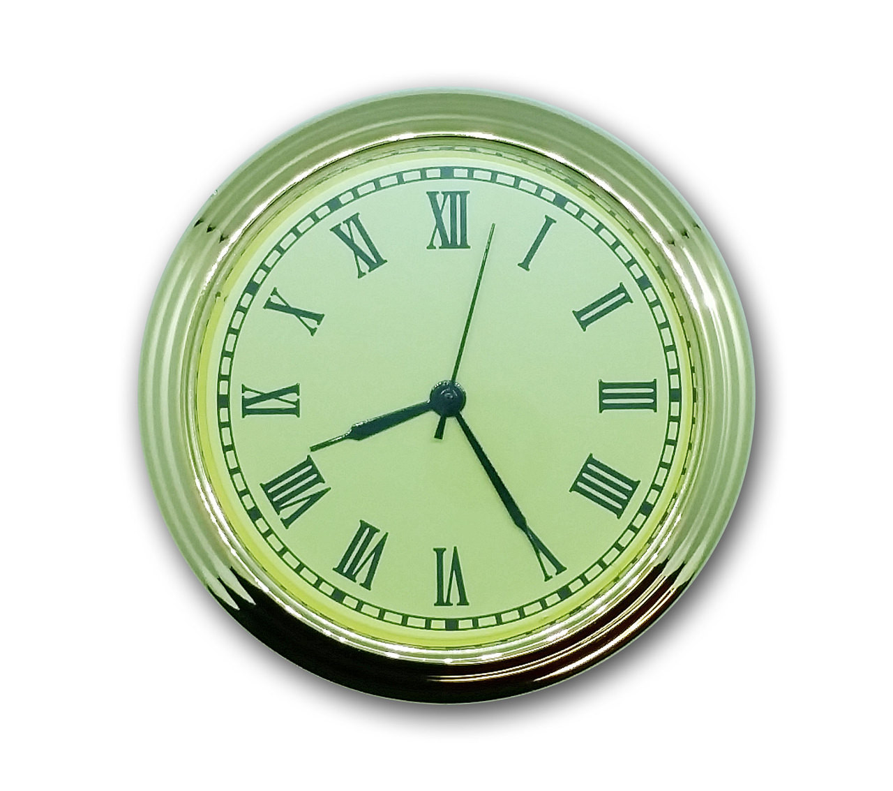 2 Inch (50mm) Ivory Roman Clock Insert/Fit Up
