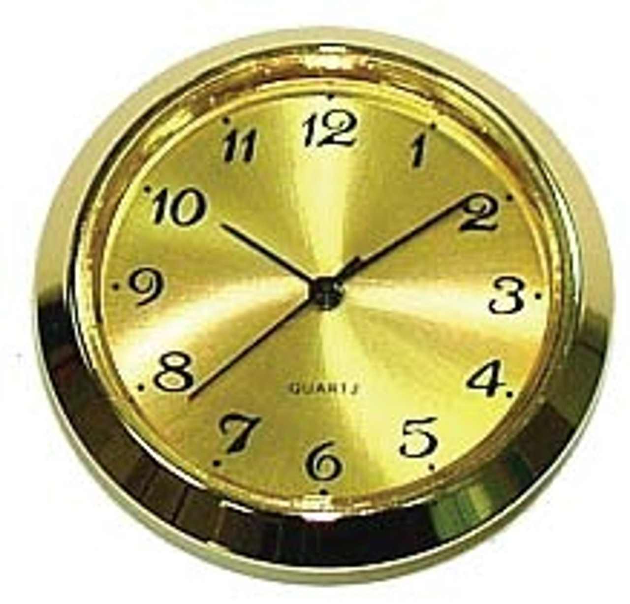 Gold Arabic 2 Inch (50mm) Clock Fit Up Inserts