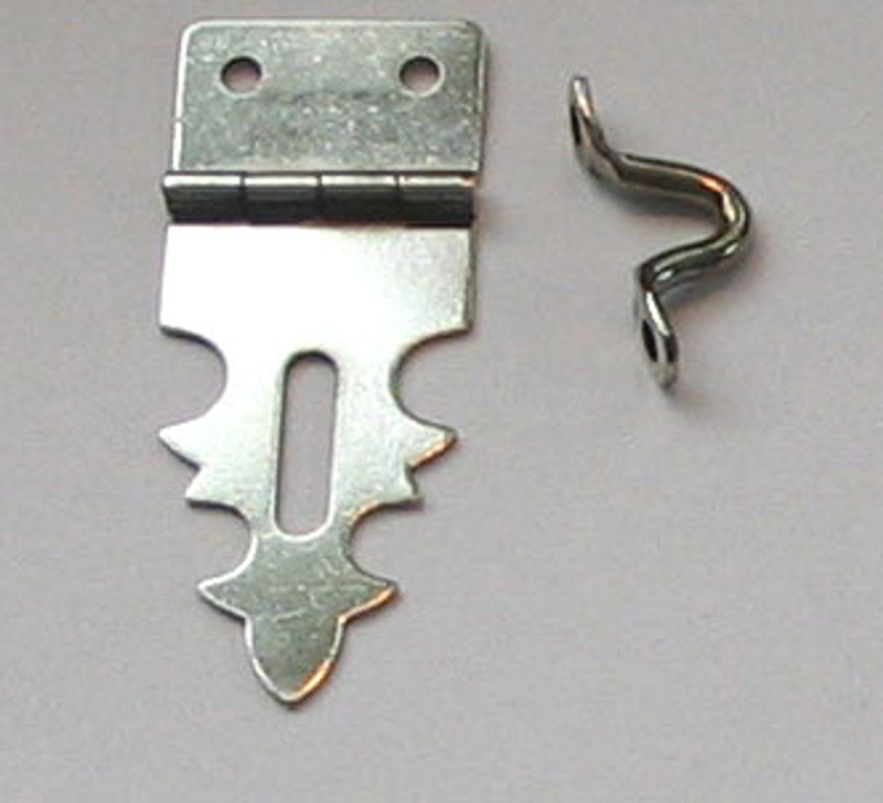 Hasp For Padlock Nickel Plated