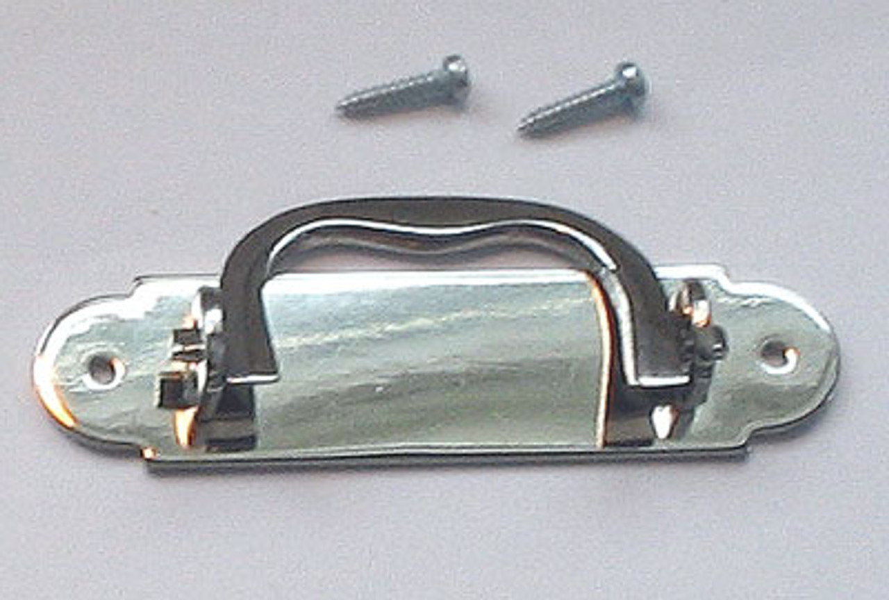 Solid Brass Box Handle Nickel plated