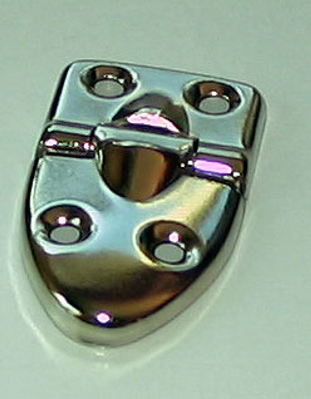 Tear Drop Hinge with stop nickel Plated