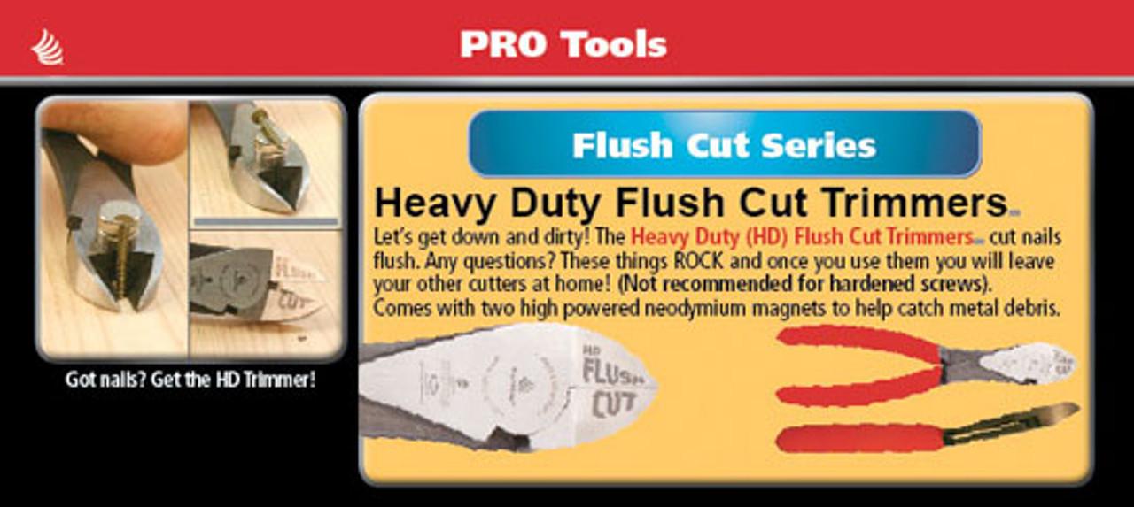 Heavy-duty Flush Cut Trimmers Pliers