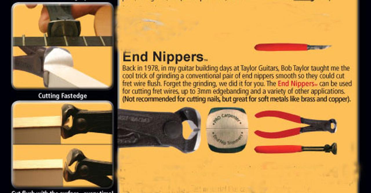 Fastcap Flush Cut End Nipper Pliers info