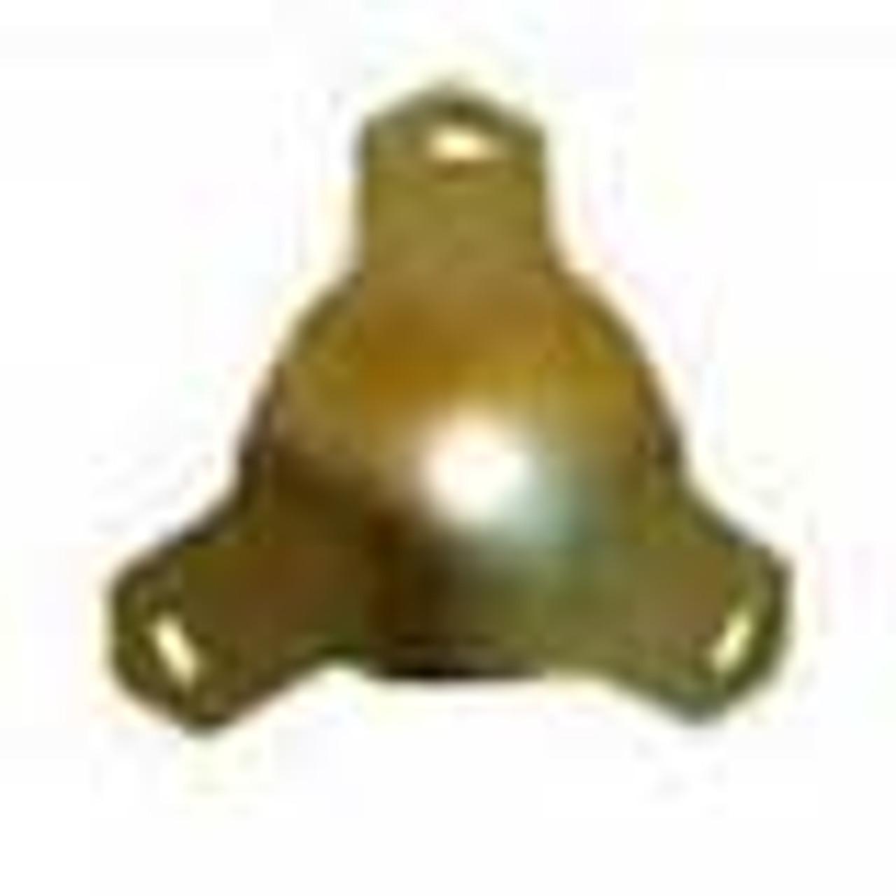Medium Box Corner brass plated thumb