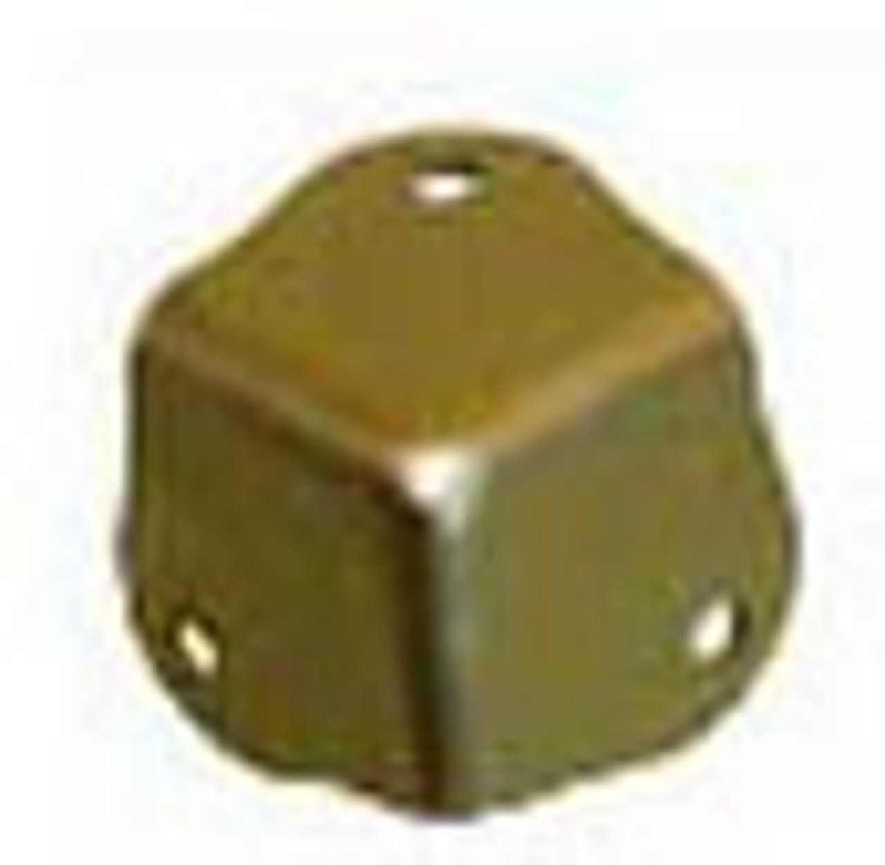Large Decorative Box Corner Brass  Plated Thumb