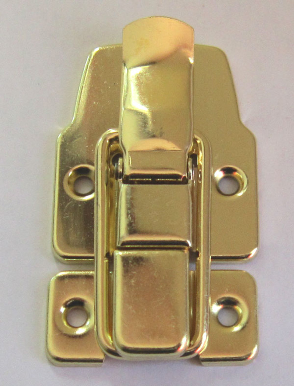 Large Drawbolt Latch Brass Plated NO Lock Loop