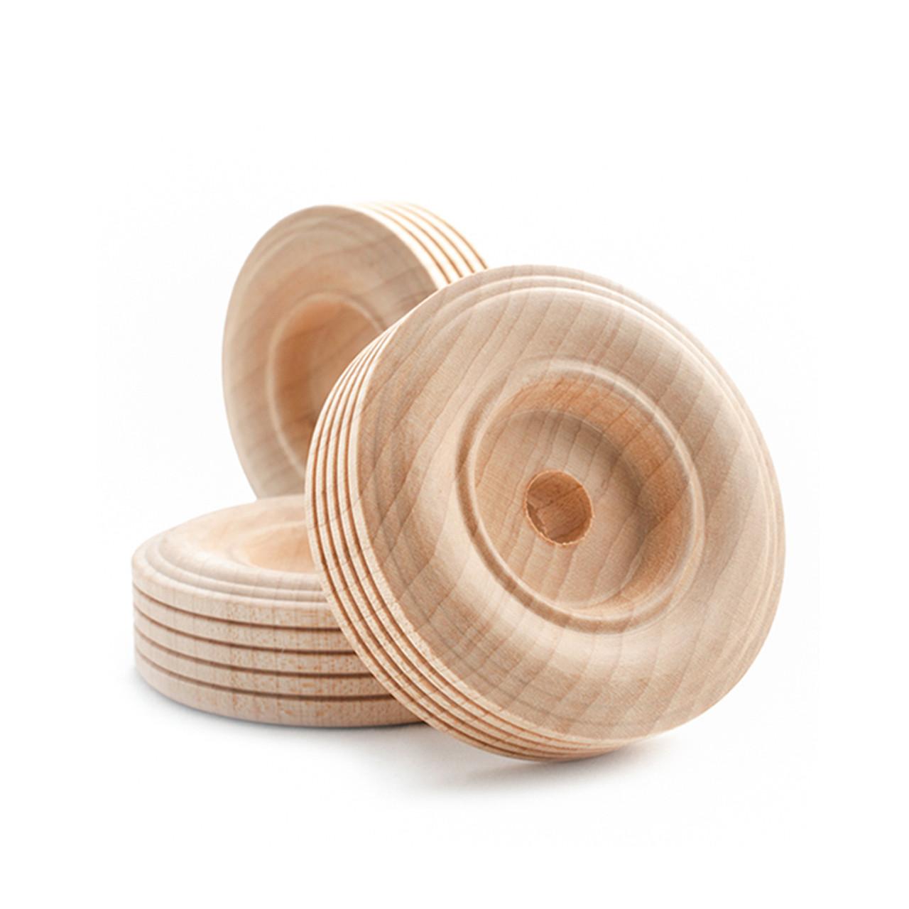 2 1/2 Inch Treaded Toy Wheels