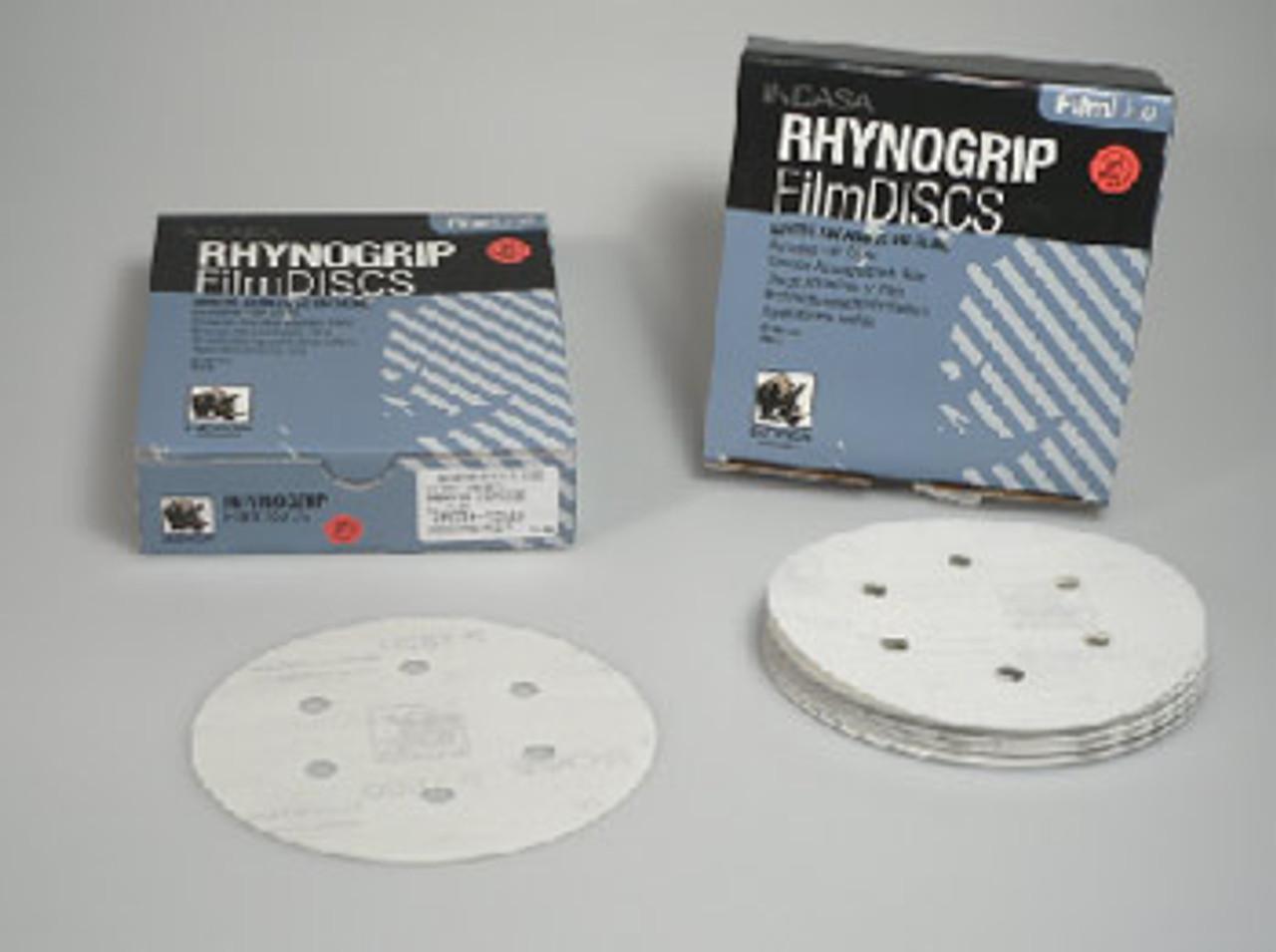 50 Disc 6 Inch 6 Hole H&L Film 1500 Grit Disc