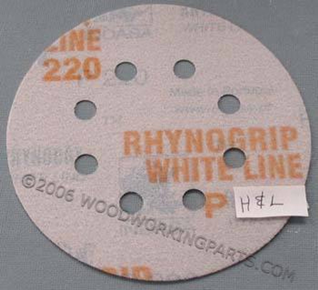 5 Inch 8 Hole Hook and Loop Sanding Disc