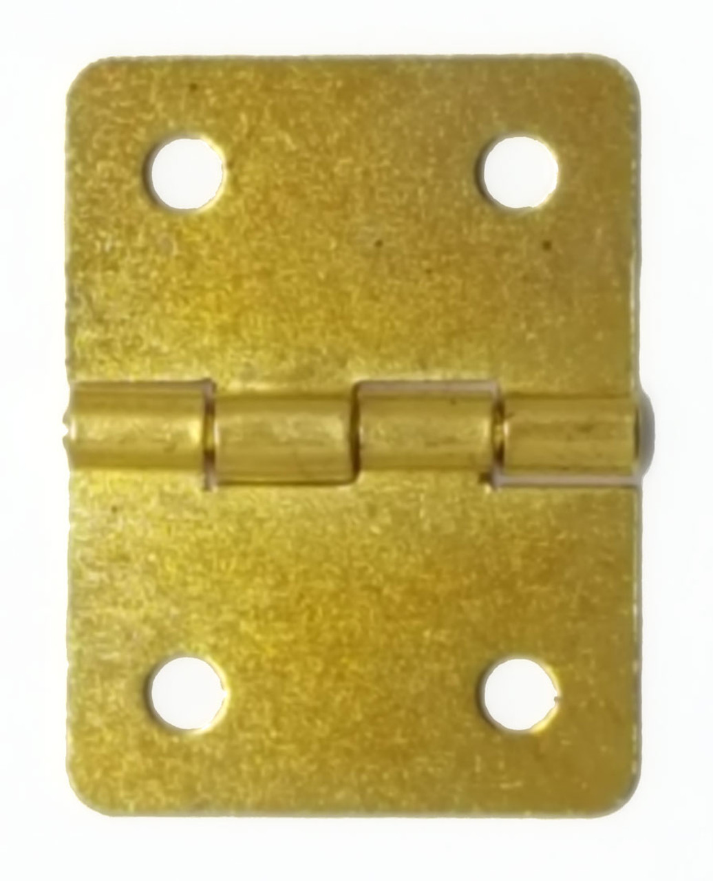 BRASS Plate - 3/4x1 inch hinge