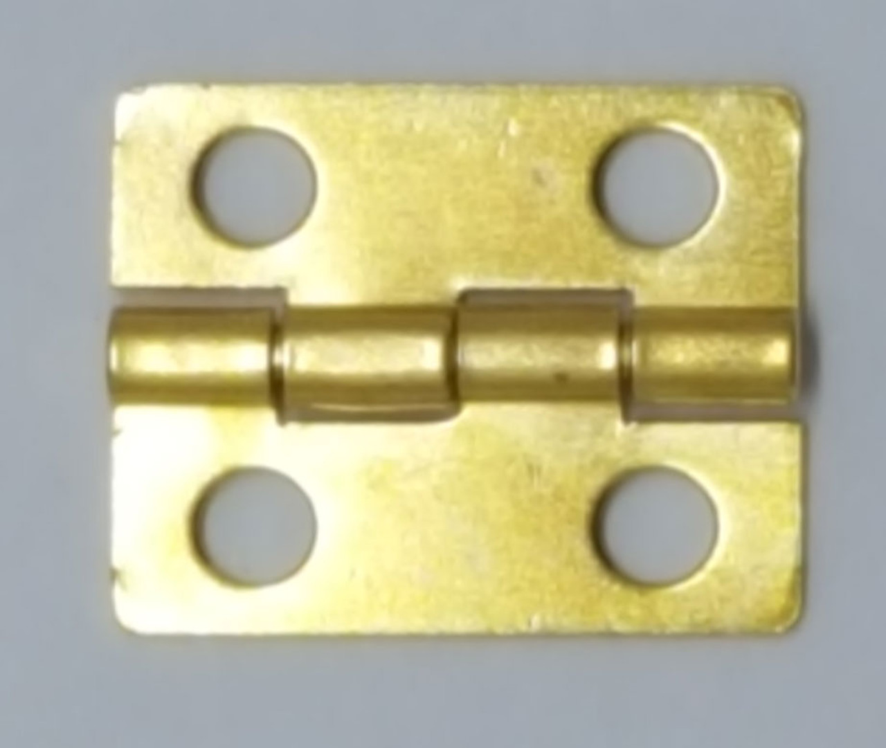 BRASS Plated 3/4x5/8 Inch Hinge