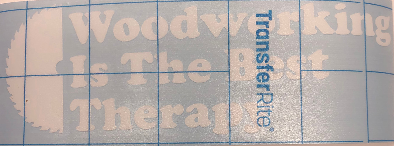 Woodworking Is The Best Therapy decal - SHIPS FREE
