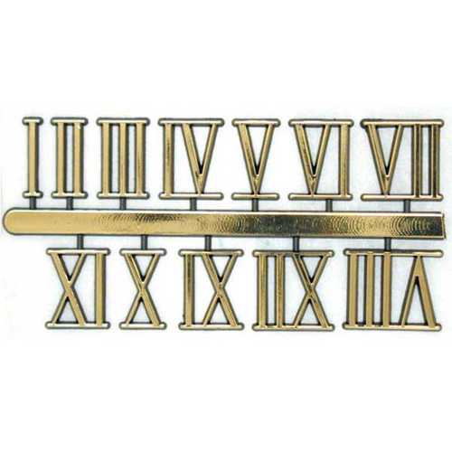 Roman Clock Numbers Self Adhesive