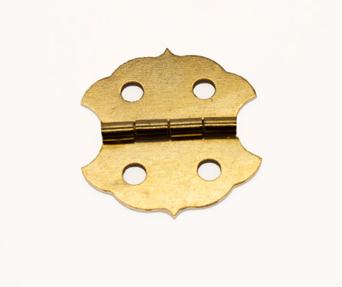 Brass Plated Butterfly Hinge