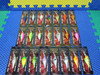 """Walleye Nation Creations WNC Shaky Shad Lures 2-3/4"""" SS7-Series CHOOSE YOUR COLOR!"""
