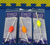 Stan's Slip Bobbers With Removable Metal Bottom Size 52 CHOOSE YOUR COLOR!