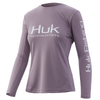 HUK Womens Icon X LS Shirt H6120018-512 Sea Fog CHOOSE YOUR SIZE!