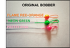 Original Ice Strong Titanium Spring Bobbers With Bead For 4.0-5.0mm Tungsten Jigs CHOOSE YOUR COLOR!