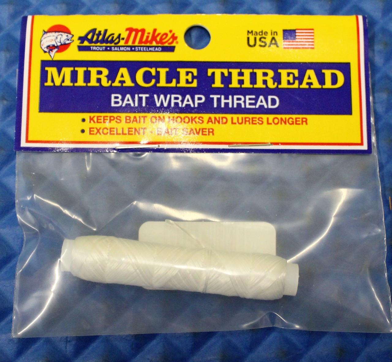 White Atlas Mikes Thread 100-Feet