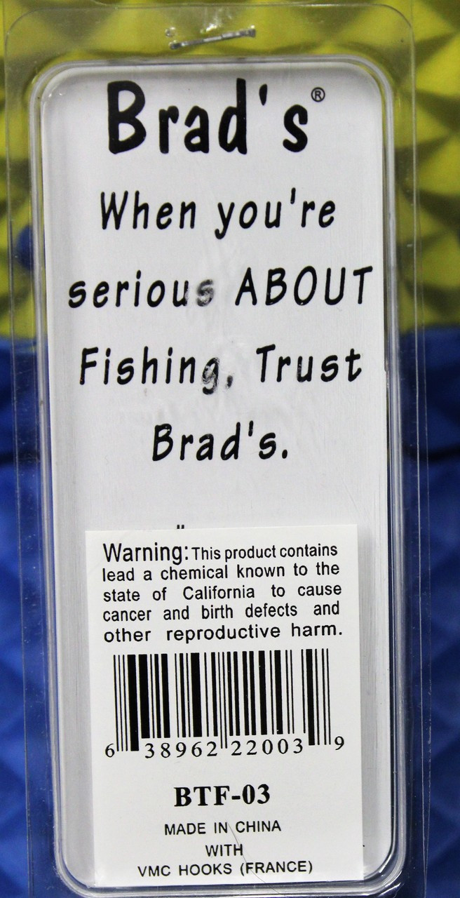 Brad's Thin Fish Crankbait Lures BTF Series CHOOSE YOUR COLOR!