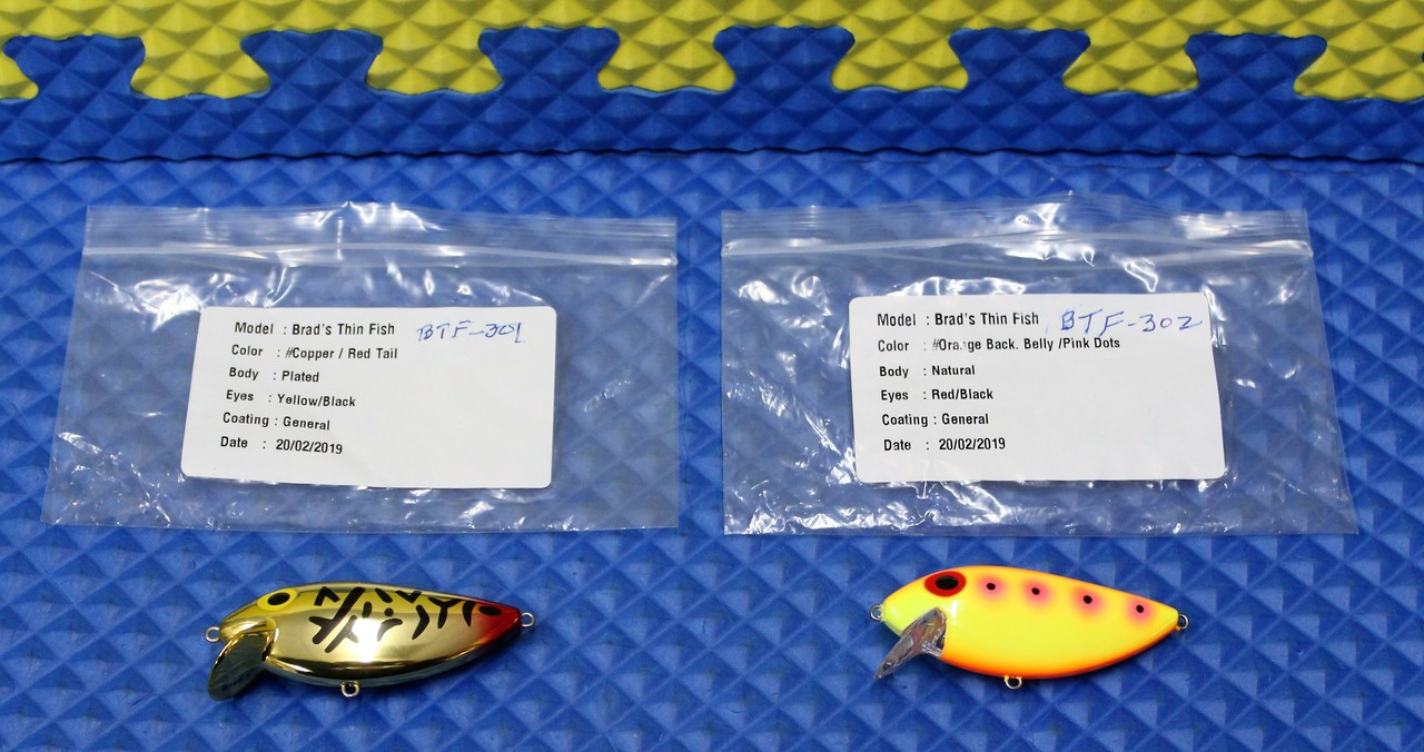 BTF-301 Red Tail Tiger And BTF-302 Pink Lemonade New Custom Colors!!
