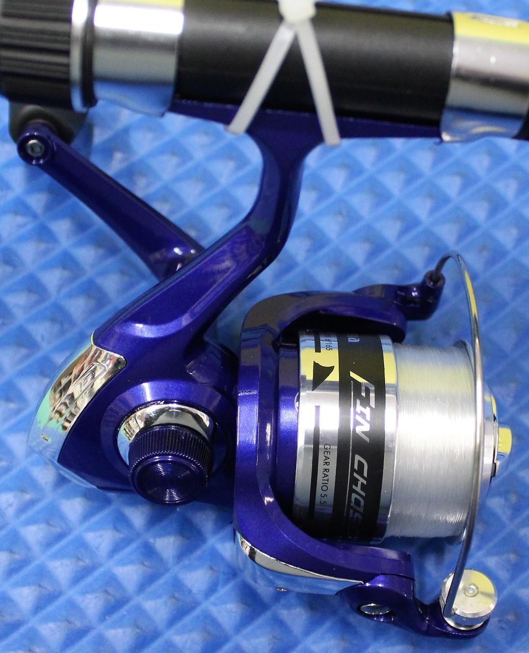 "Okuma Fin Chaser X Spinning Combo 6' 6"" Rod 2 Piece 30BL Reel Spooled  FNX-662-30BL"