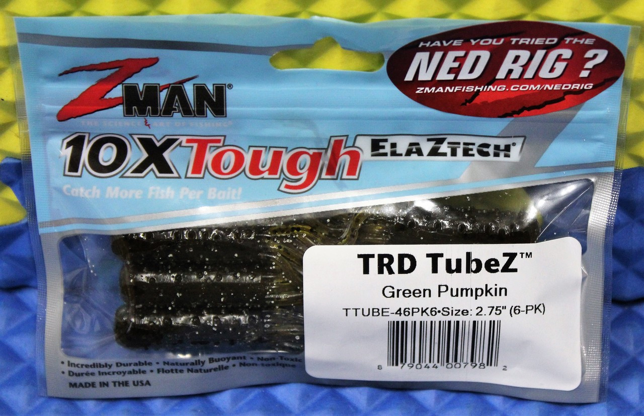 Z-MAN 10X Tough ElaZtech TRD TubeZ 2.75 in.