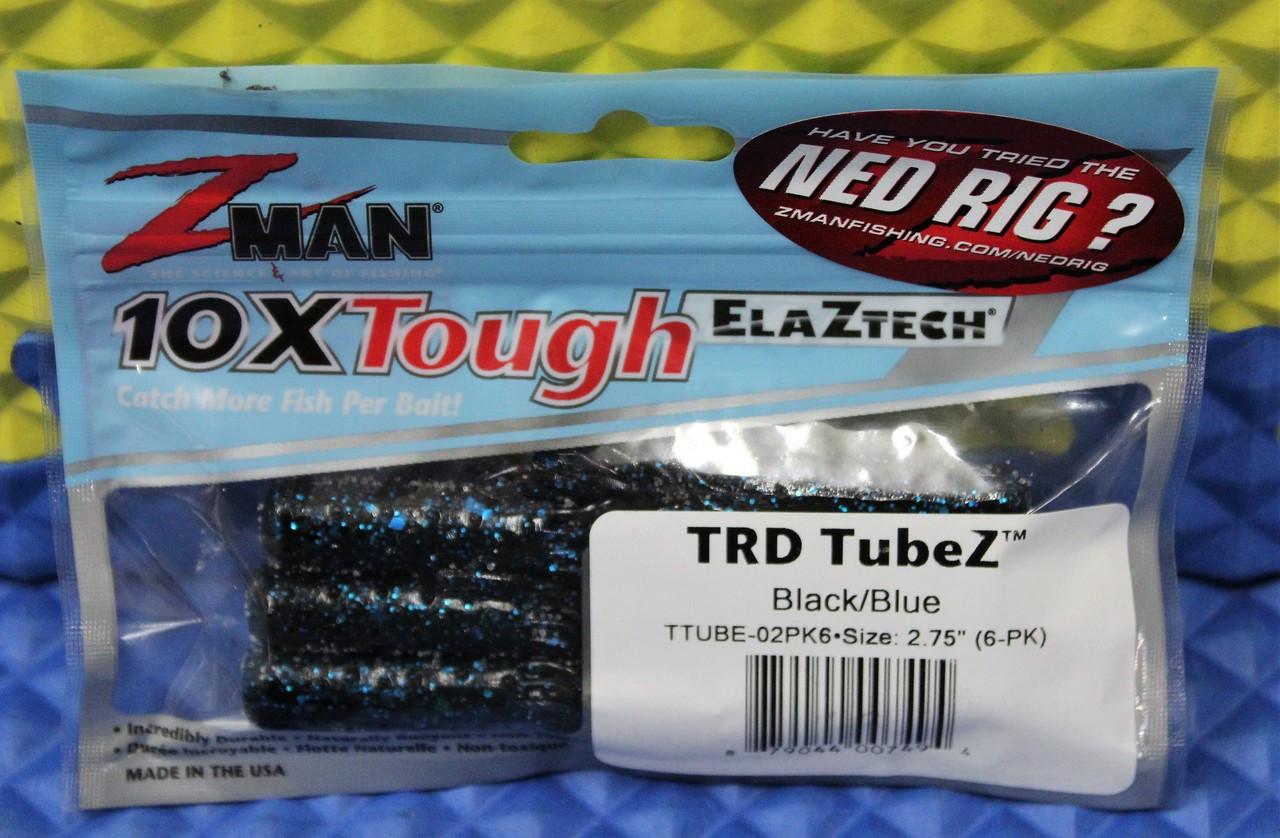 """320 ttube 2.75/"""" Z-Man TRD Tubez-The Deal 2 Pk"""