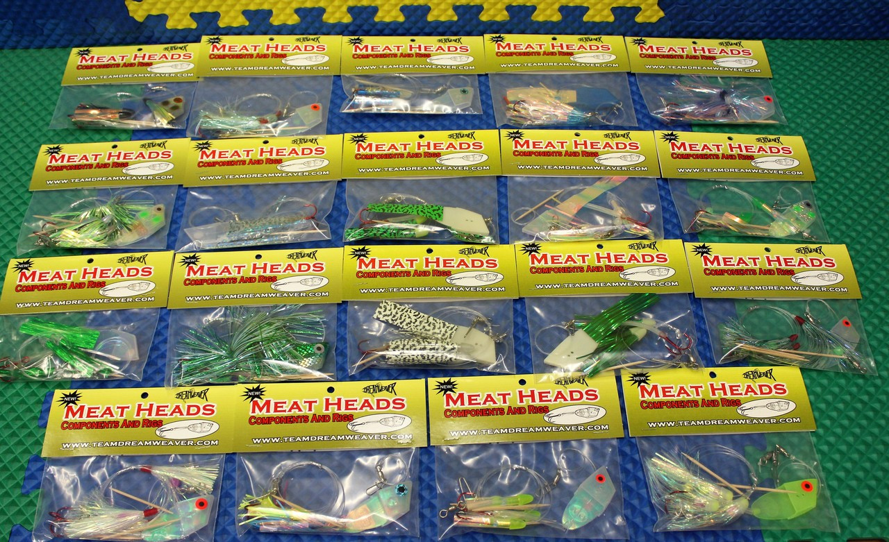 Dreamweaver Meat Heads Components And Rigs CHOOSE YOUR COLOR!