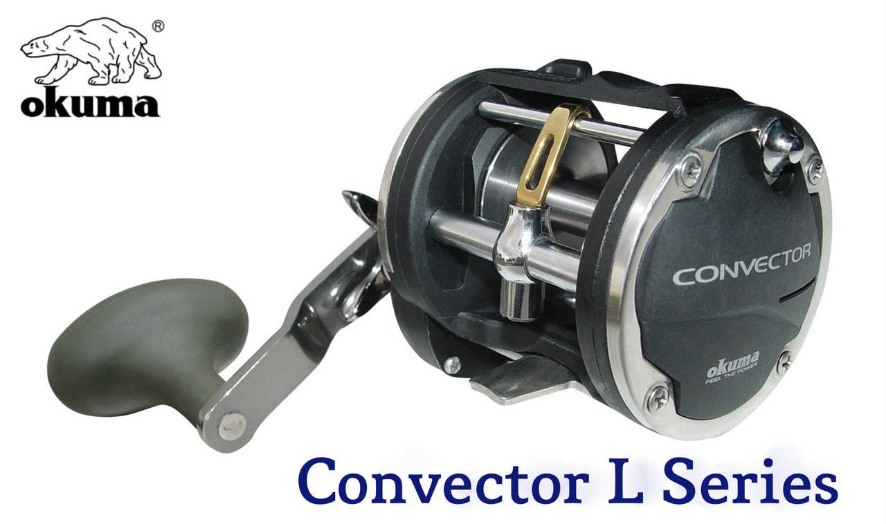 Okuma Convector CV 45L Levelwind Reel Unspooled
