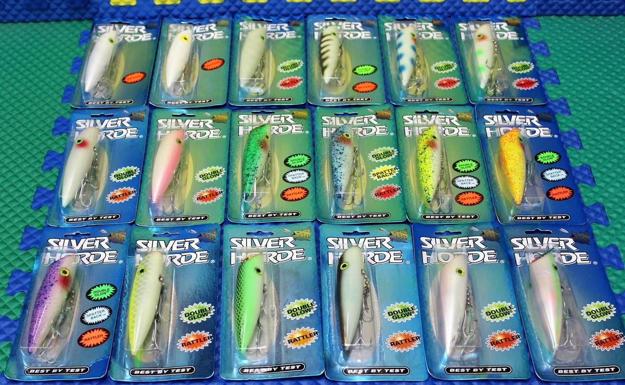 "Silver Horde 3003 999 4-3/4"" Colors:  019, 126, 500, 504, 507, 508, 509, 516, 521, 522, 523, 524, 525, 530, 535, 542, 560, 562"
