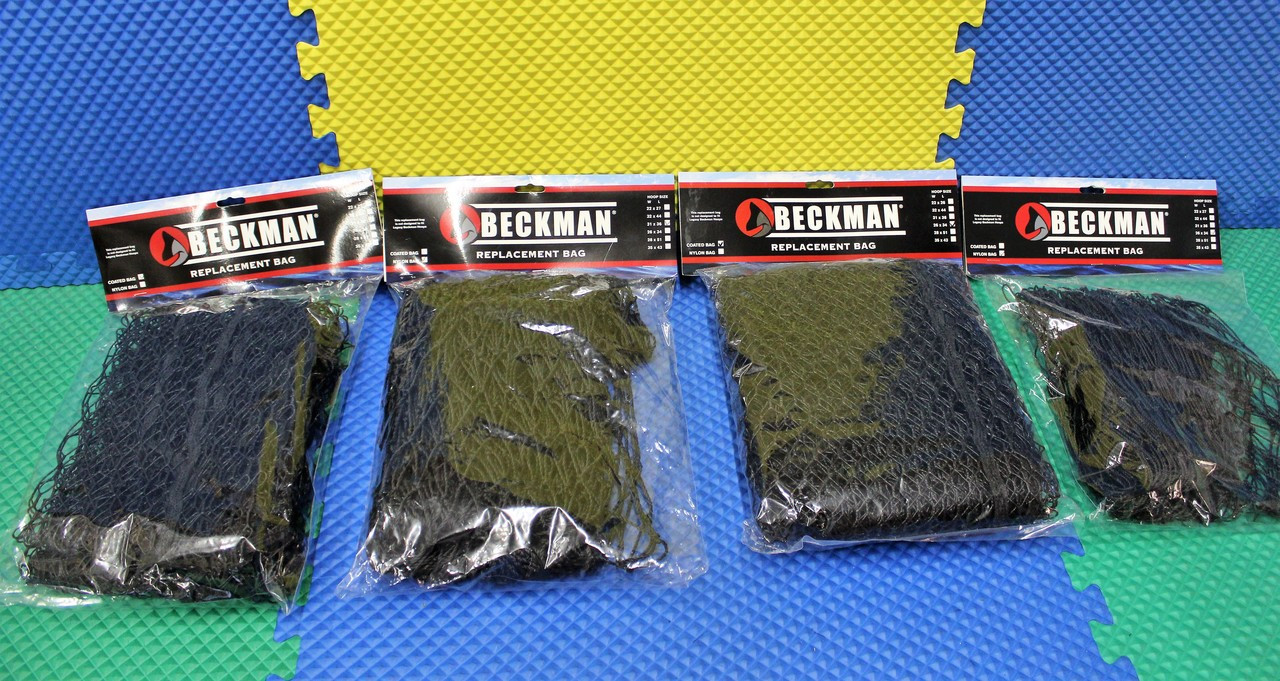 Beckman Replacement Bags (Black Nets) Nylon (Standard) Or Coated  2 Sizes CHOOSE YOUR MODEL!