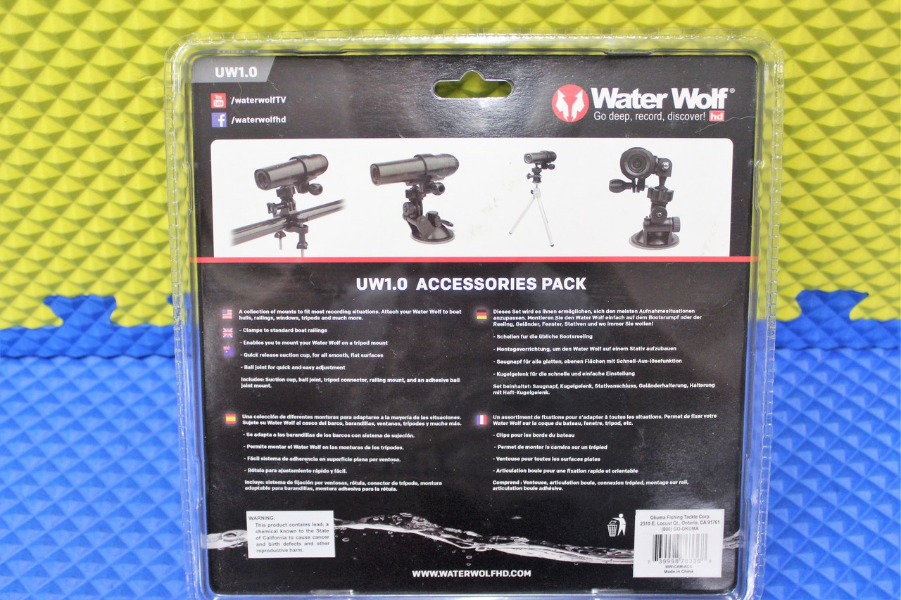 Water Wolf Underwater Camera Accessory Kit UW1.0  WW-CAM-ACC