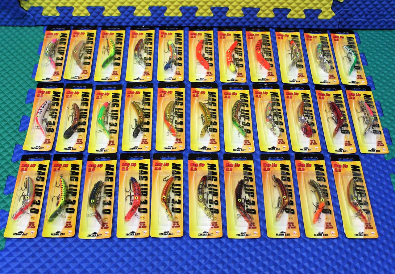 Yakima Bait Mag Lip Size 3.0 *Select Colors*