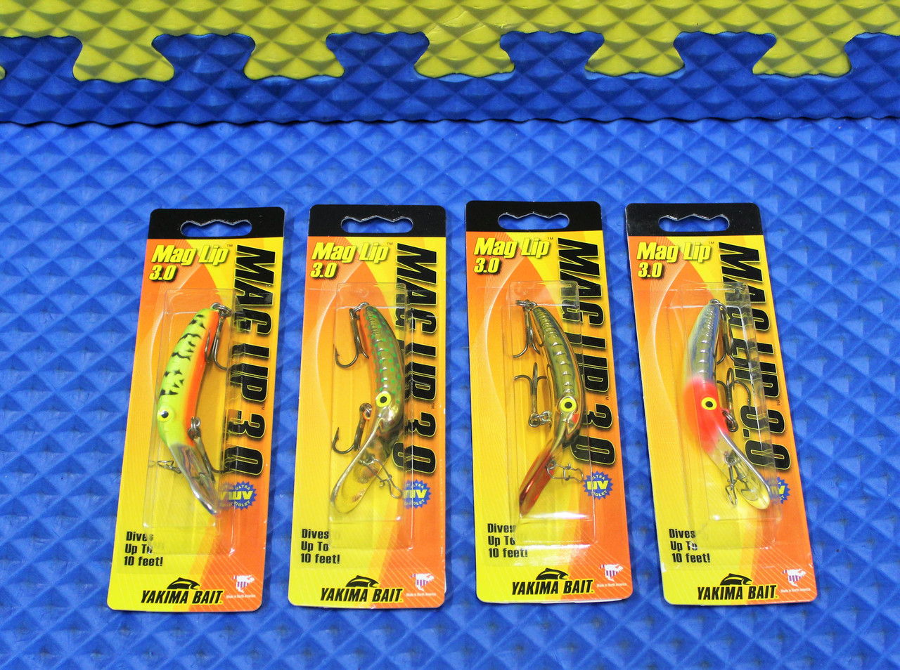 Yakima Bait Mag Lip 3.0 Dives Up To 10' CHOOSE YOUR COLOR!