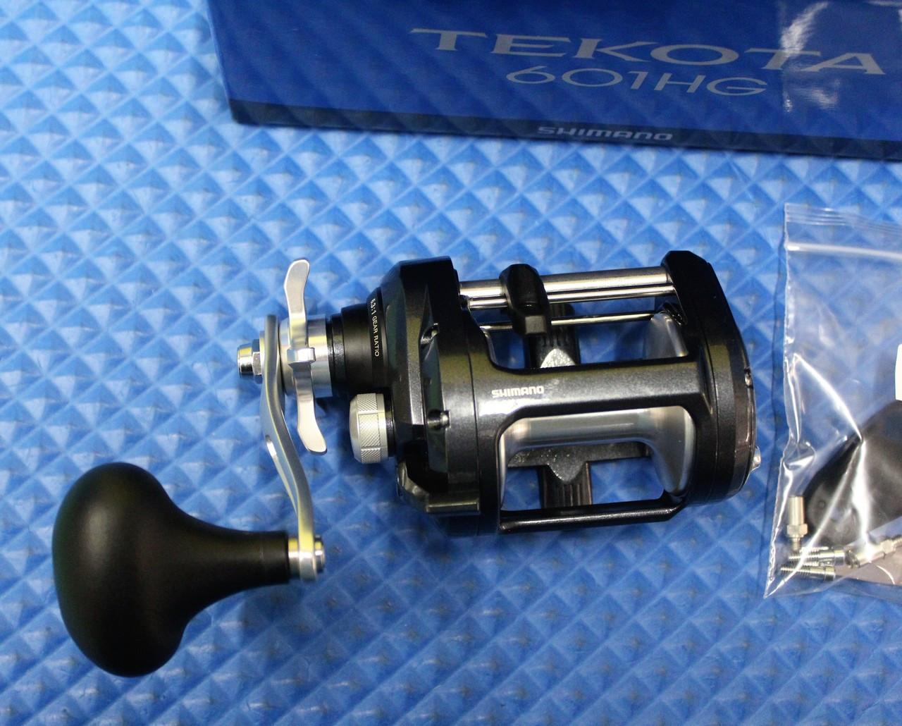 **New Shimano Tekota 601 Left Hand 6.3:1 TEK601HGA