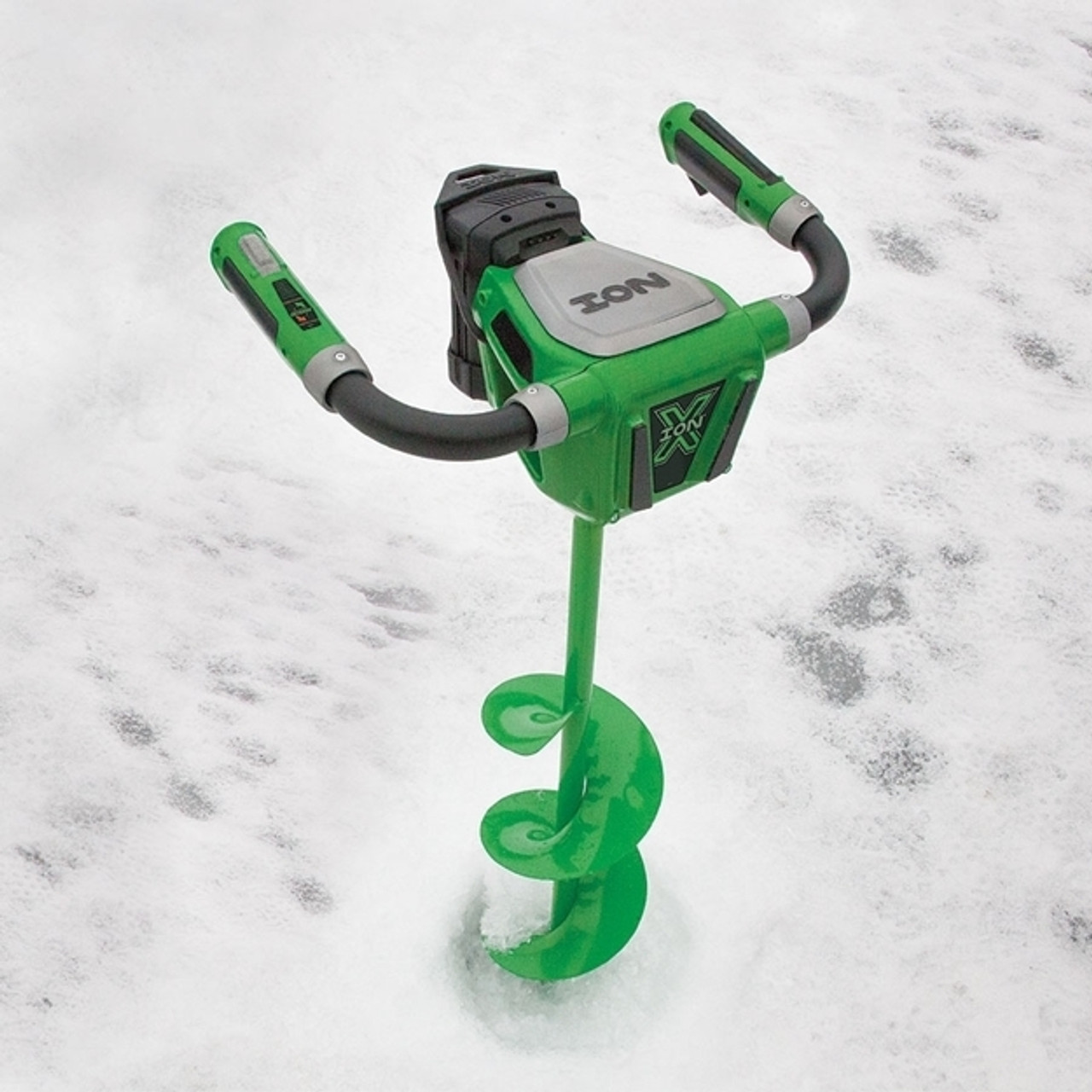 """ION X 8"""" Electric Ice Auger With Reverse #29250 NEW MODEL!"""