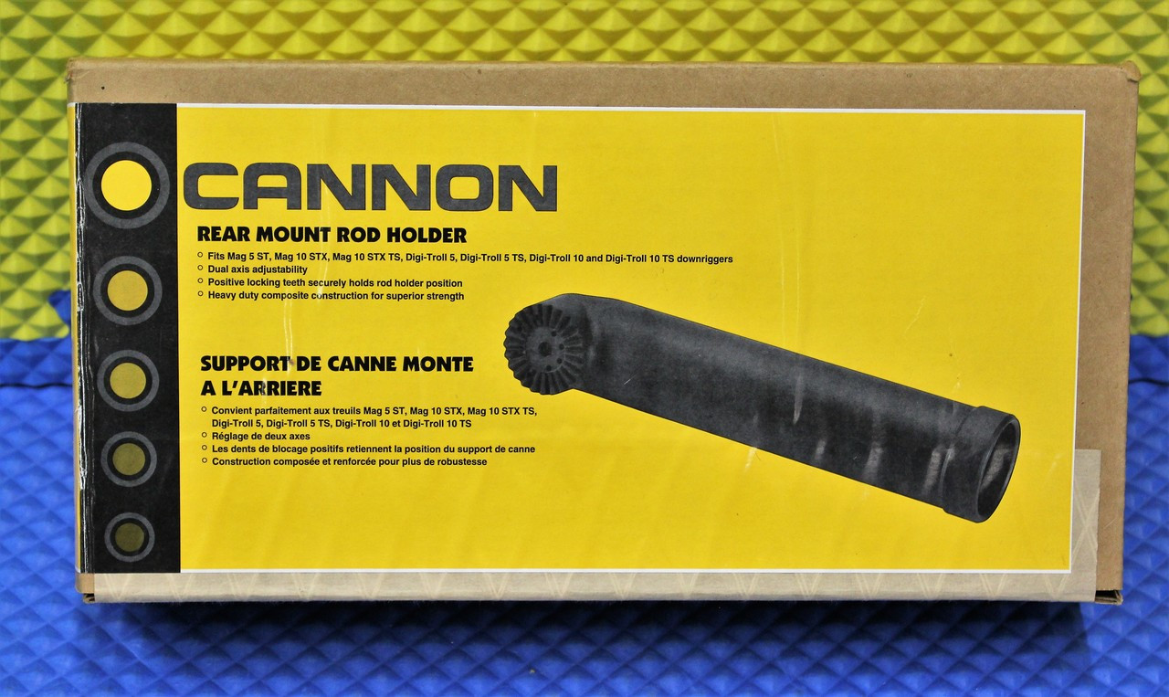Rear Mount 1907070 Cannon Dual Rod Holder
