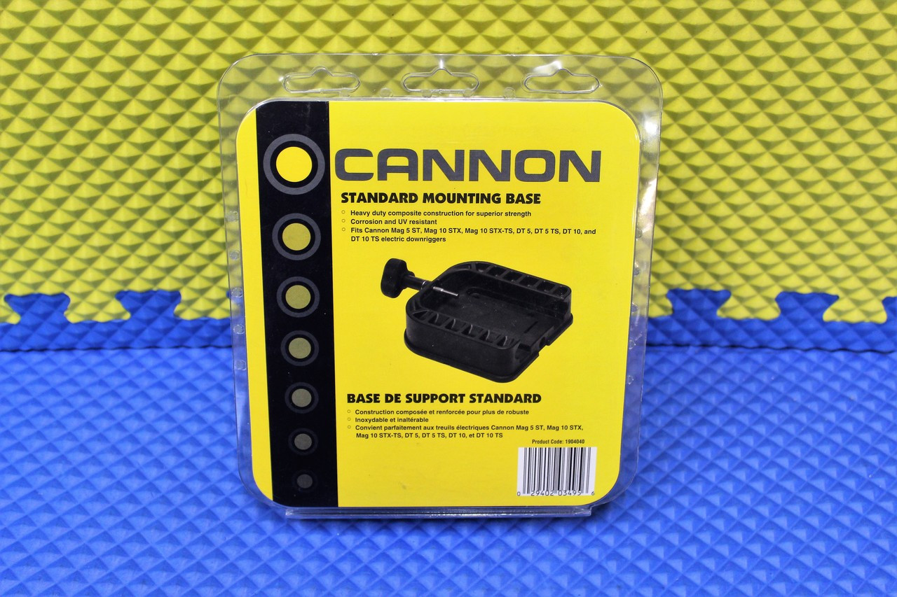 Cannon 1904030 4 In AlumInum Fixed Base Pedestal Mount