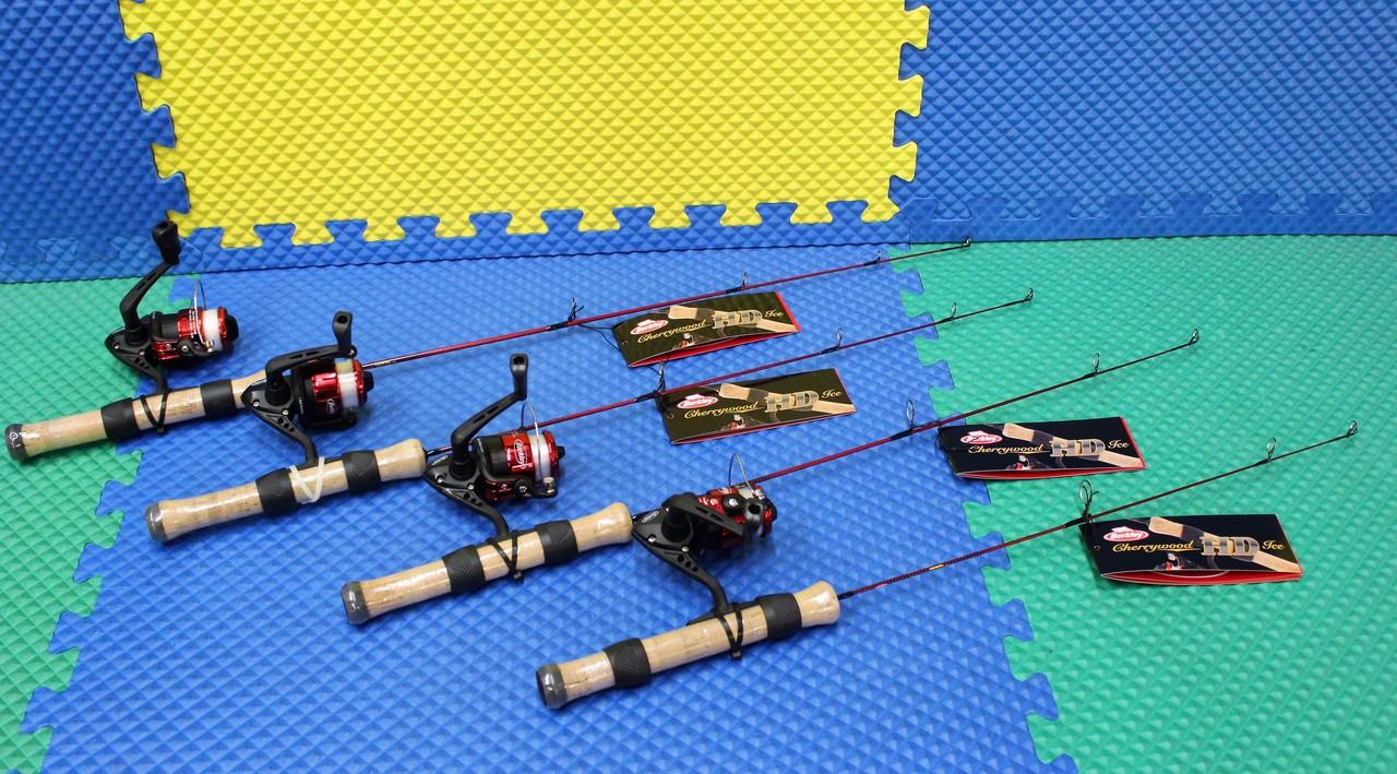 Berkley Cherrywood HD Ice Fishing Rod And Reel Combo CHOOSE YOUR MODEL!