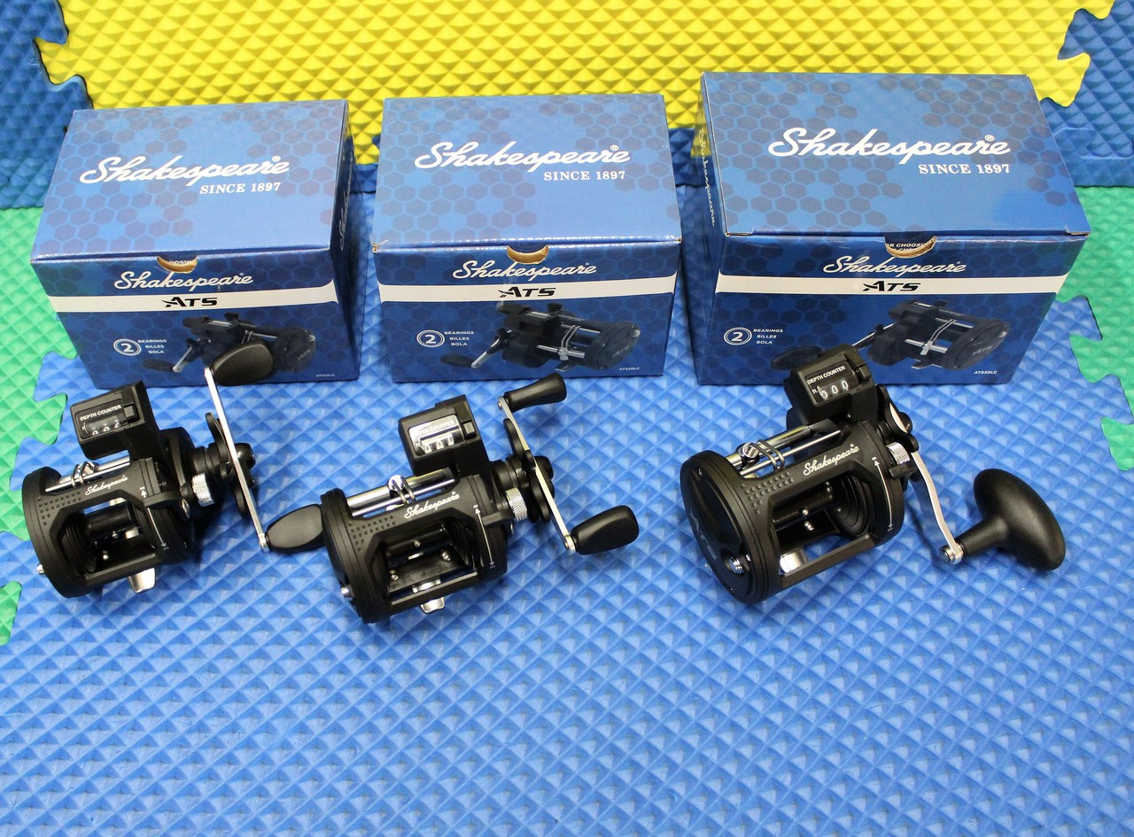 Shakespeare ATS Line Counter Trolling Reels CHOOSE YOUR MODEL!