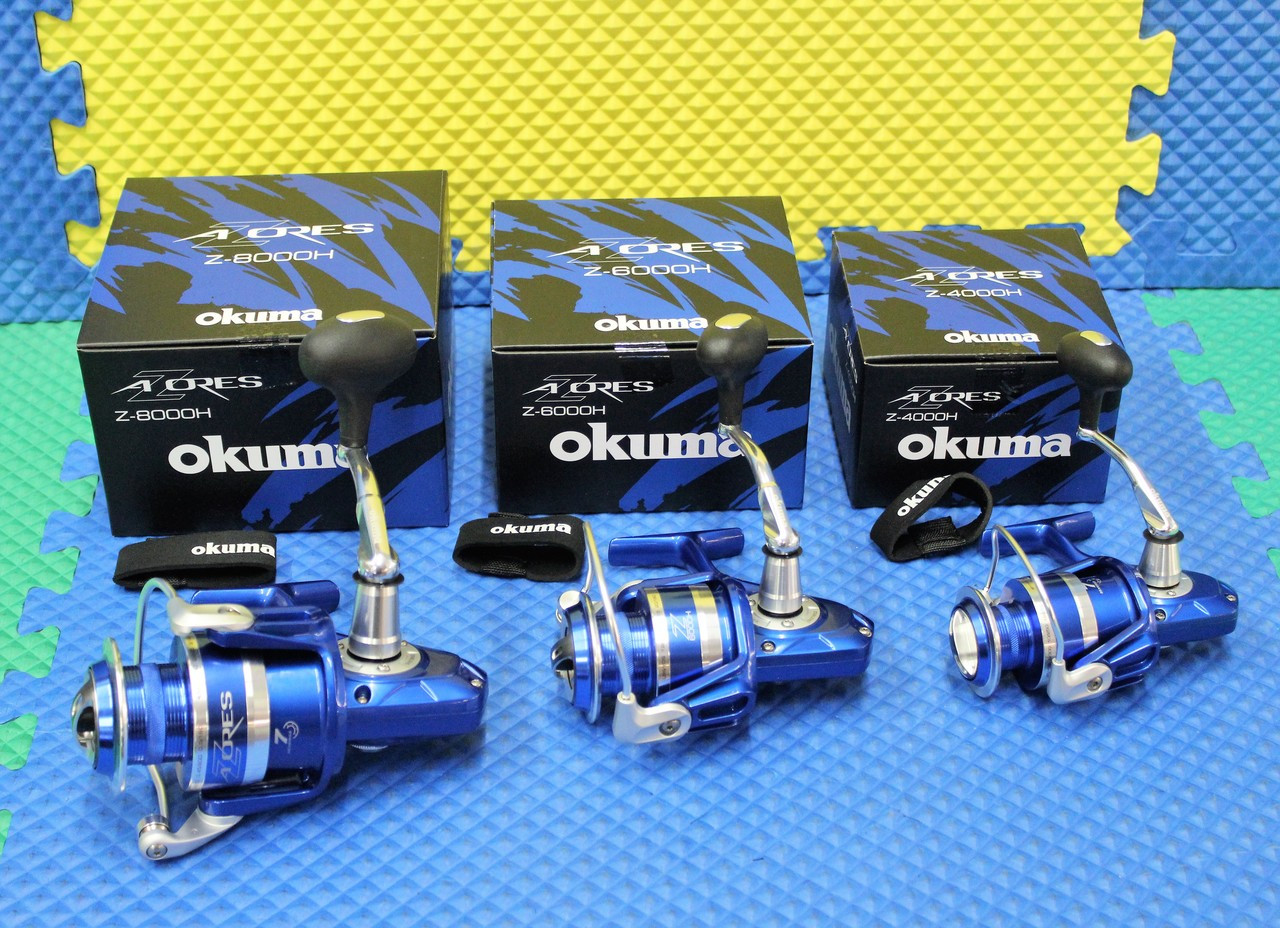 Okuma AZORES Blue Saltwater Spinning Reels CHOOSE YOUR MODEL!