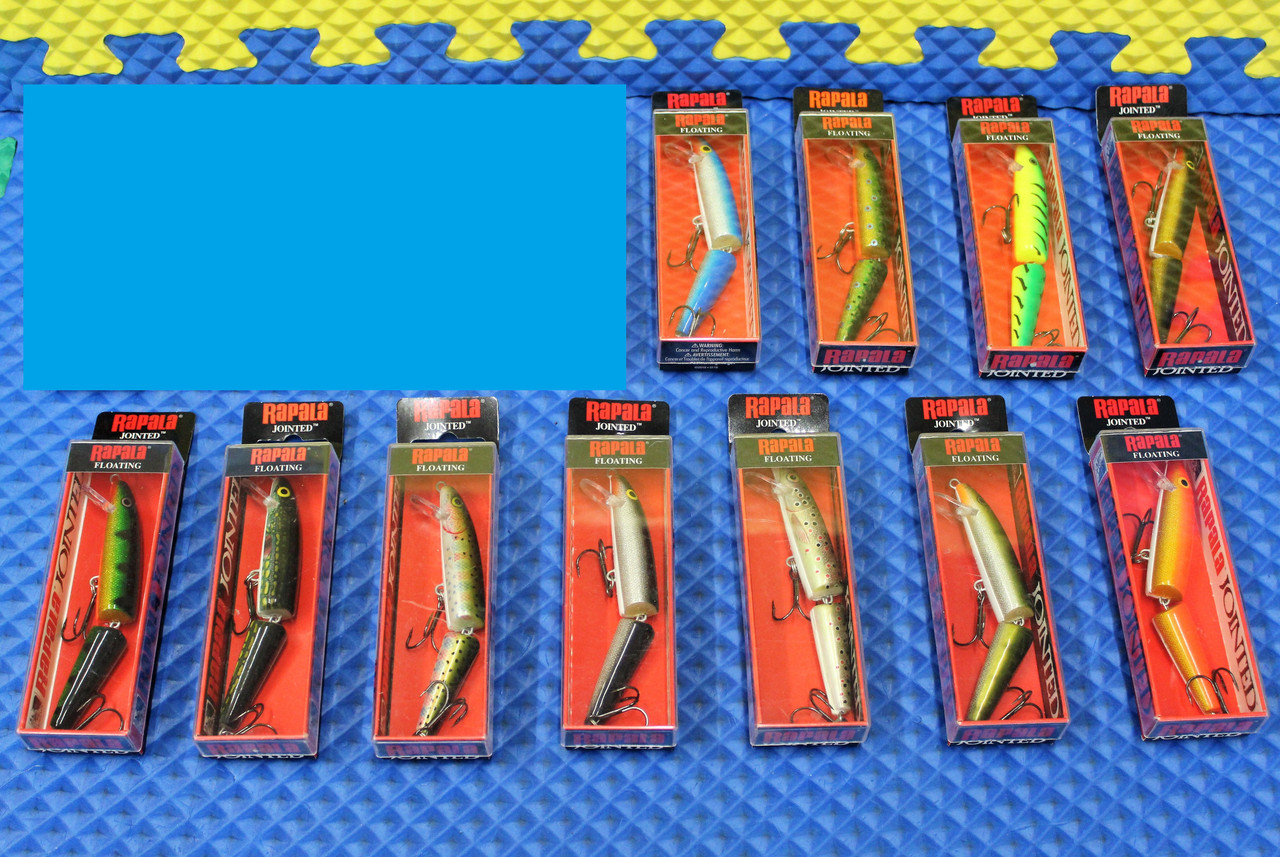 Rapala Jointed Floating Lures J11 CHOOSE YOUR COLOR!