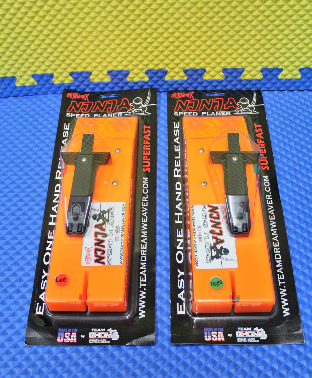 Dreamweaver Ninja Speed Planer Boards LEFT NJ911-L And RIGHT NJ911-R