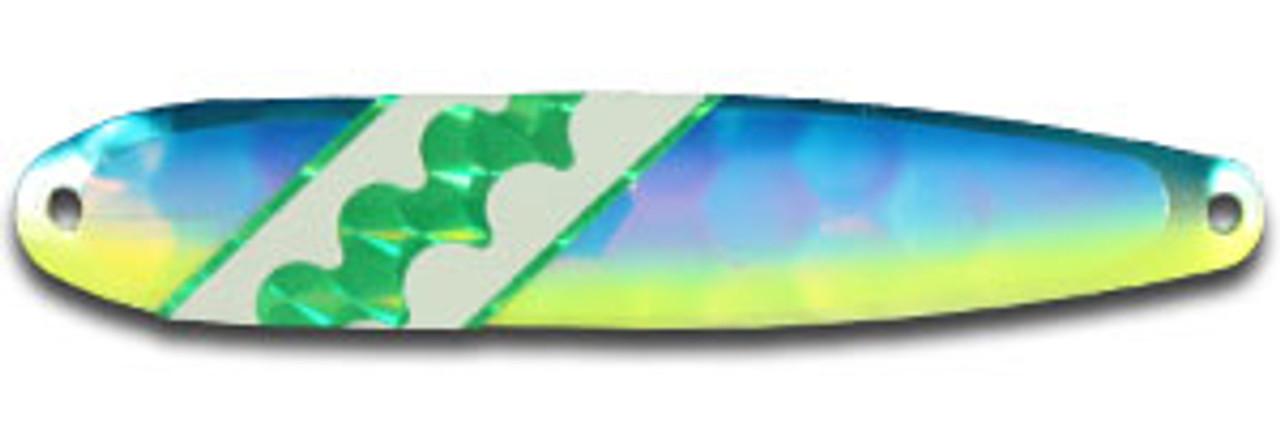 FL157N Blue/Yellow Dolphin Elite UV Flutter