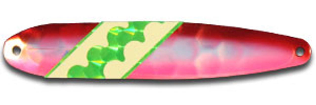 FL158N Raspberry Dolphin Elite UV Flutter Glows In The Dark (GID)