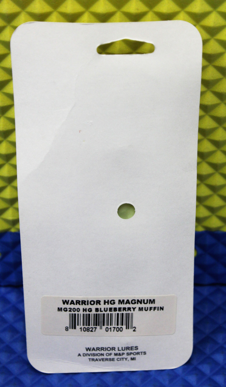 """Warrior 3 Hour Hot Glow Spoons Magnum 4-3/4""""  By M & P Sports Silver Back CHOOSE YOUR  COLOR!"""