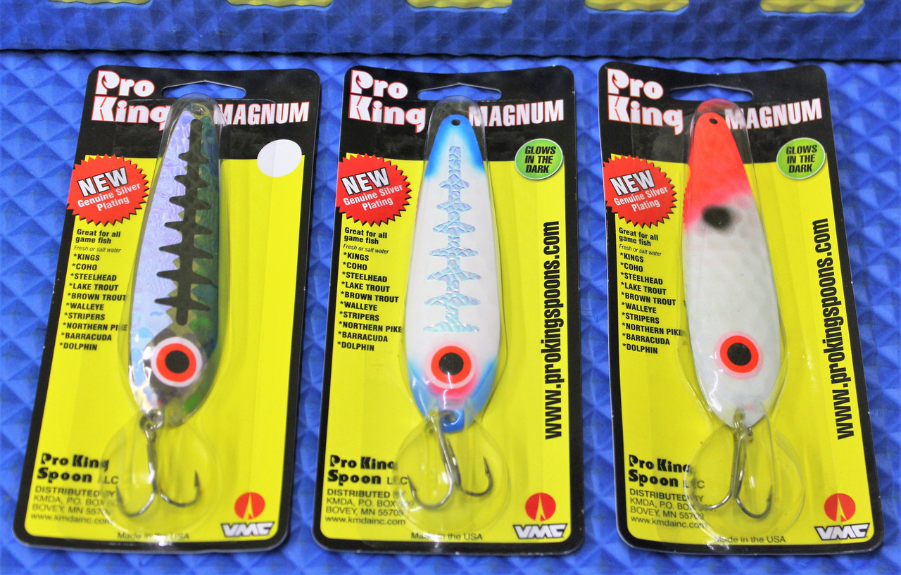 """Pro King Magnum Spoons 4-3/4"""" CHOOSE YOUR COLOR!"""